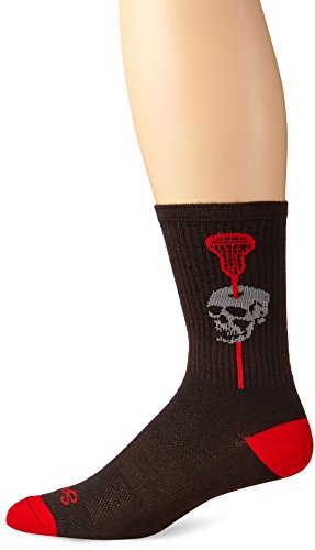 SockGuy Men's Headshot Socks, Black, Small/Medium