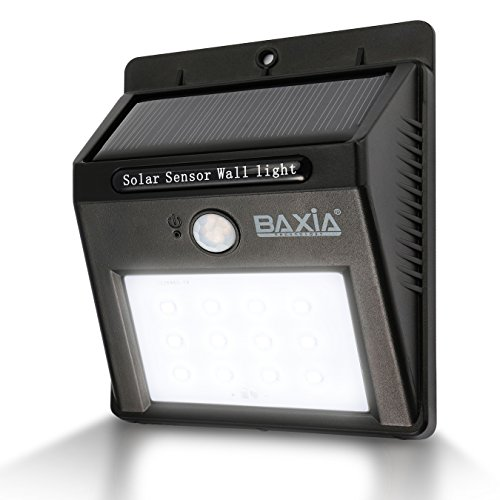 BAXIA TECHNOLOGY Waterproof Wireless Solar Motion Sensor Night Lights (Motion Sensor Driveway Light compare prices)