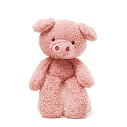Gund Fuzzy Pig Stuffed Animal
