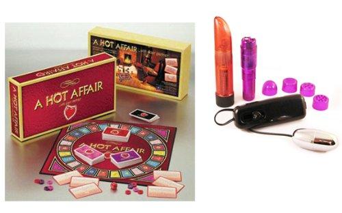 Hot Affair Multi-Product Value Bundle - Sex Toy Kit