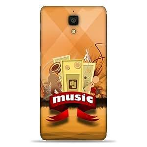 Xiaomi Mi4 printed back cover (3D)RK-AD018