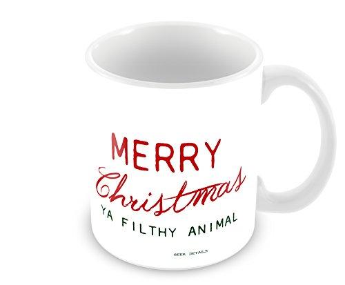 11 Oz Coffee Mug Merry Christmas Ya Filthy Animal
