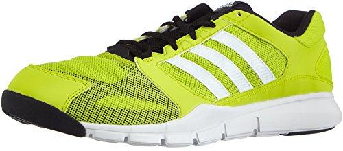 adidas Performance - Essential Star, Scarpe da ginnastica da uomo, giallo (semi solar yellow/ftwr white/core black), 43.3333333333333