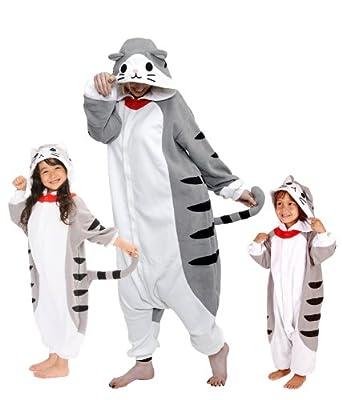 Tabby Cat Kigurumi (All Ages Costume) (Adults XL)