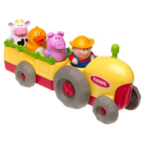 Playskool Musical Toys : Amazon playskool tractor with four fun figures