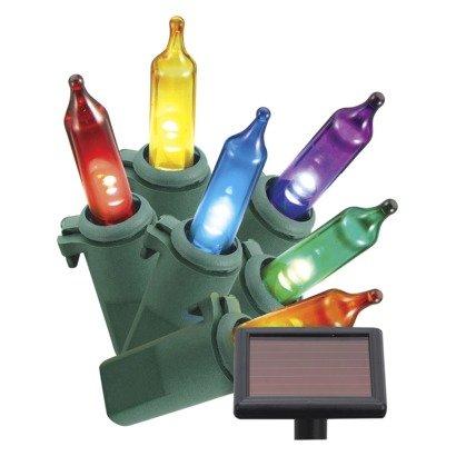 Philips Solar Powered Multi Color 50 Ct. Mini Led Lights