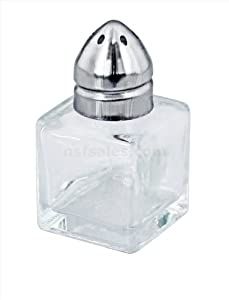 New Star 48 pcs? Mini Cube Salt & Pepper Shaker?Stainless Steel?Top 1/2 OZ at Sears.com