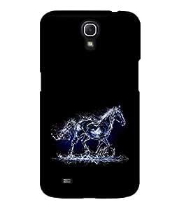 printtech Water Horse Design Back Case Cover for Samsung Galaxy Mega 6.3 i9200::Samsung Galaxy Mega 6.3 i91200