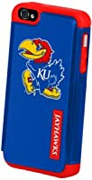Buy Forever Collectibles NCAA Kansas Jayhawks Dual Hybrid Hard Apple iPhone 4 4S Case by Forever Collectibles