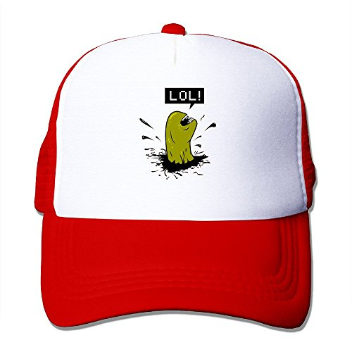 Texhood Cool Alien Cool Hiphop Cap One Size Red