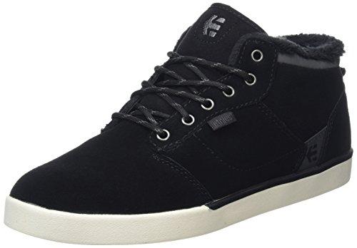 Etnies Men's Jefferson Mid Skateboarding Shoe, Black/Dark Grey, 10.5 M US