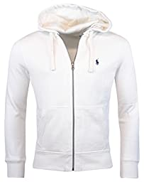 Polo Ralph Lauren Classic Full-Zip Fleece Hooded Sweatshirt - XXL - Deckwash White