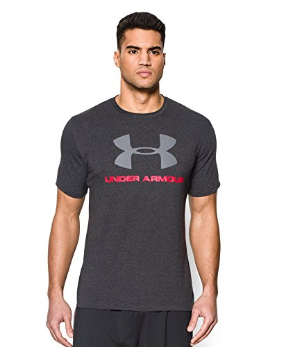 Under Armour Men's Charged Cotton Sportstyle Logo Tee, Black (001