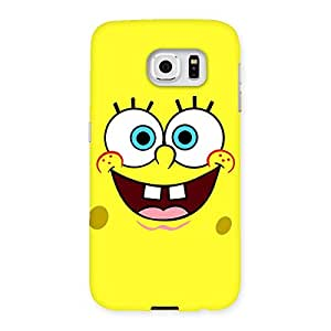 Cute Spong Yellow Back Case Cover for Samsung Galaxy S6