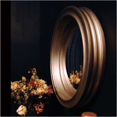 Frieshen Decorative Convex Mirror Color: Antique Gold