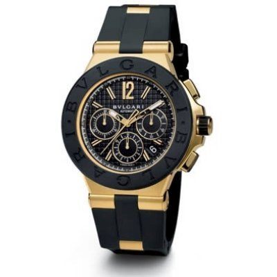 Bvlgari Diagono Chronograph Automatic 18k Gold Dg42bgvdch
