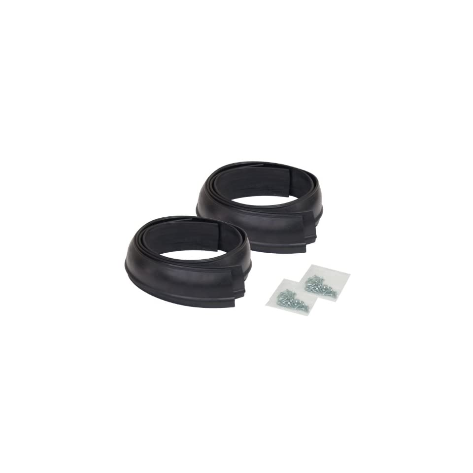 Pacer Performance 52-156 Flexy Flares Black 2-1//2 x 58 Standard Duty Rubber Fender Extension Kit 4 Piece