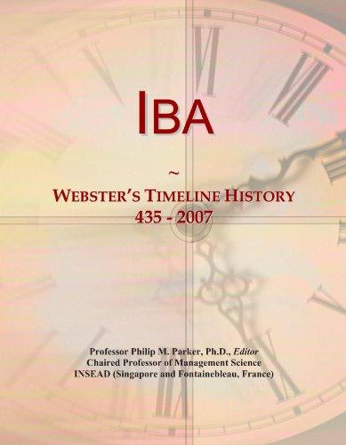Iba: Webster's Timeline History, 435 - 2007