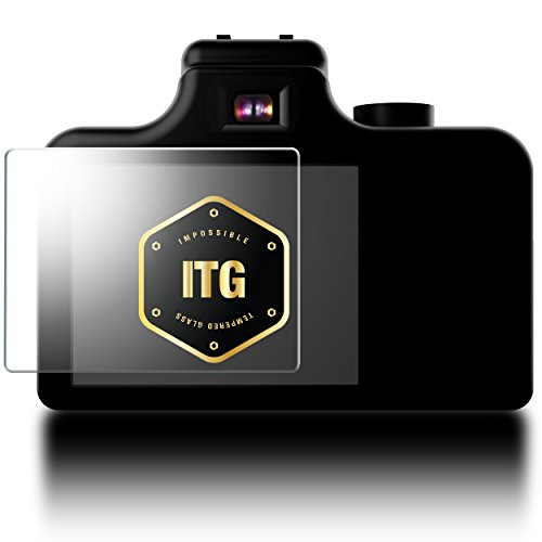 Patchworks® ITG for Samsung NX1 / NX500 LCD - Impossible Tempered Glass Optical Screen Protector, Top grade raw glass from Japan, Finished in Korea