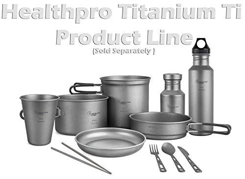 HealthPro Super Strong Lightweight Titanium (Ti) Dinner Plate, 7-Inch (1)