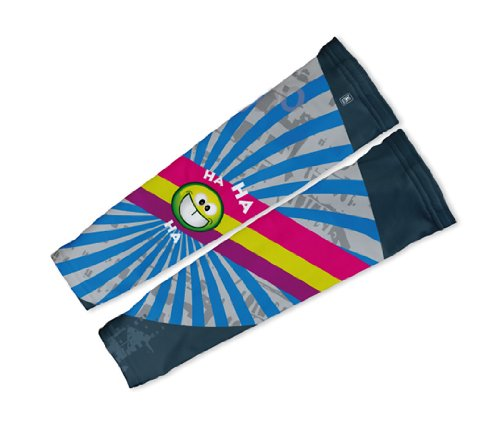 Image of Crazy Laughter Arm Warmers Sleeves Unisex Walking/Cycling/Running (01-AWS-051-PM)