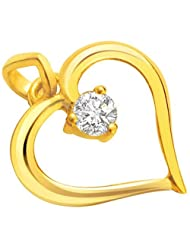 Surat Diamond 18K Yellow Gold Diamond Pendant