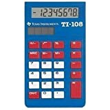 TI 108 Basic Solar Calculator TI-108 TK