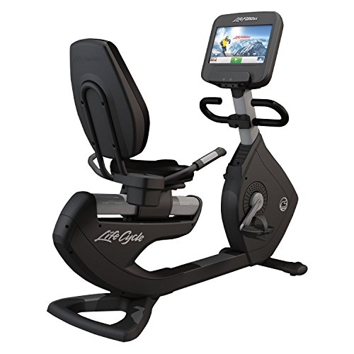 Life Fitness Platinum Club Series Recumbent Cycle with DISCOVER SE Console (Arctic...