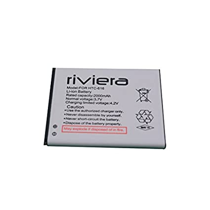 Riviera 2000mAh Battery (For HTC-616)