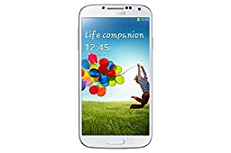 Samsung Galaxy S4 i9500 Factory Unlocked  cellphone, International Version, 16GB, White