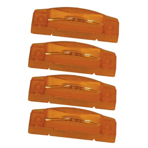 (4) Grote Amber Led Clearance Marker Trailer Lights