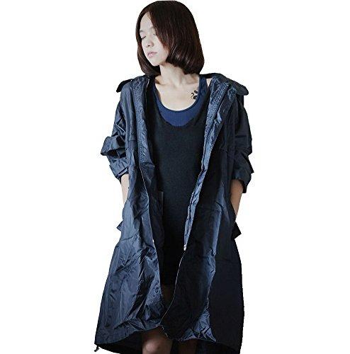dopobo mode l gant imperm able capuche veste de pluie v tements de pluie fille femmes homme. Black Bedroom Furniture Sets. Home Design Ideas