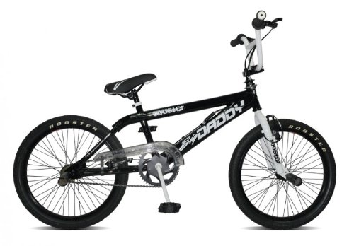 Rooster Bmx 20' Big Daddy Spoked Model 2012 4 X Stunt Pegs...