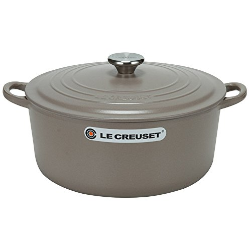 Le Creuset ルクルーゼ Round Casserole/Oven ラウンドキャセロール/オーブン Cocotte Ronde 28cm ココットロンド 28cm Silice サイザル 24147238638 両手鍋並行輸入品