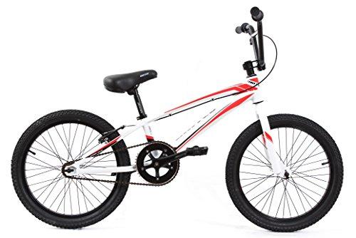 KHE-DIRT-BMX-Fahrrad-United-JUMPER-Limited-Alu-wei-rot-Modell-2016-nur-988kg