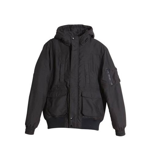 Jack & Jones - New Boot Black Mens Hooded Parka Size Large