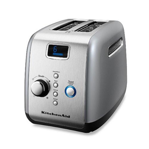 Kitchenaid® Silver 2-Slice Digital Motorized Toaster