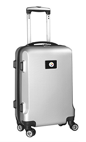 nfl-pittsburgh-steelers-carry-on-hardcase-spinner-silver-by-denco