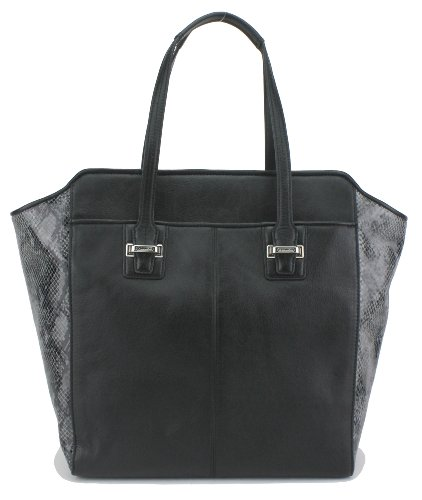 Coach   Coach Taylor Mix Leather Tote Black