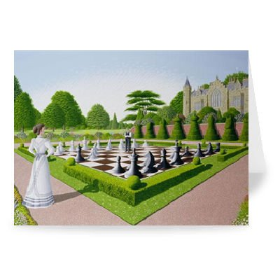 Fools Mate by Peter Szumowski - Greeting Card (Pack of 2) - 7x5 inch - Art247 - Standard Size - Pack Of 2