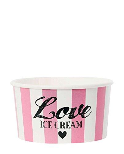 Miss étoile avec cuillère pink love coupe glacée