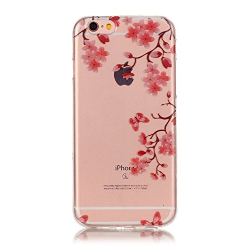 iPhone 7 Plus Case, Firefish Ultra Slim Soft Flexible TPU Clear Case Anti-Slip [Shock Absorption] Scratch-Resistant Protect for Apple iPhone 7 Plus - Maple (About A Boy Characters)