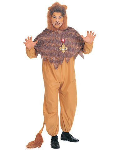 Wiz Of Oz Cowardly Lion Costume