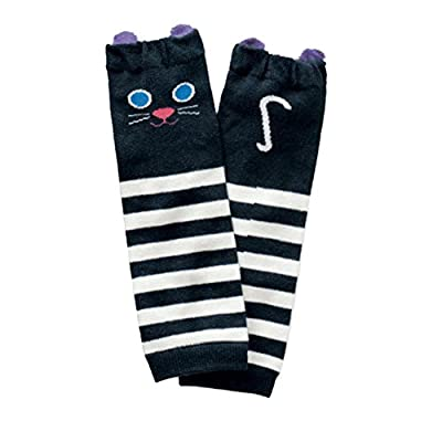 Shouhengda Toddler Girl Boy Striped Printed Leg Warmers Cute Socks