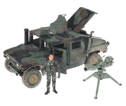 Buy Low Price Elite Force Elite Force Marine Humvee Figure (B00065AQIA)