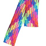 "Hickory Brands Wide Shoe Laces - Neon Argyle (54"")"