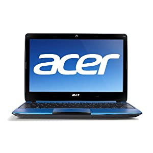 Acer Aspire One AO722-BZ608 11.6-Inch HD Netbook - Laptops Computers