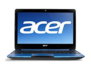 Acer Aspire One AO722-0652 11.6-Inch HD Netbook (Aquamarine)