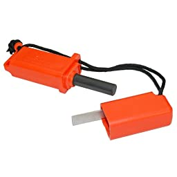 Ultimate Survival Technologies StrikeForce Fire Starter (Orange)