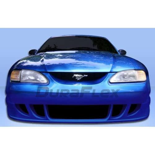 1994 1998 Ford Mustang Duraflex GT500 Wide Body Front Bumper Cover   1 Piece
